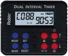 M613 Personal Use Repetitive Dual Interval Countdown Timers- Counts reps