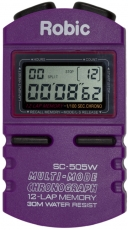 Robic SC-505W 12 Memory Stopwatch-Purple
