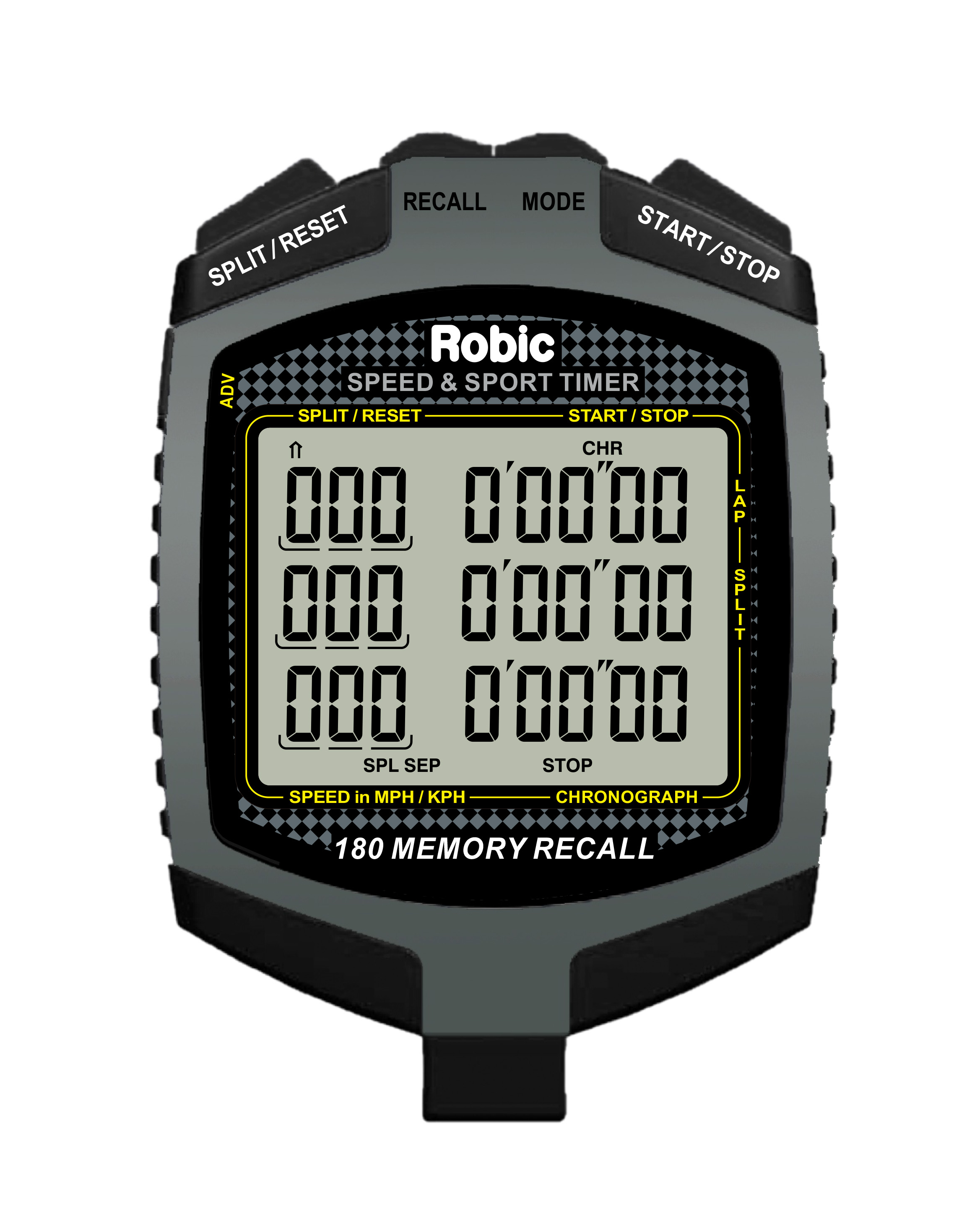 Robic SC-889 Speed and Sport Timer