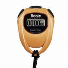 SC-429 Water Resistant 2 Memory Stopwatch-Orange