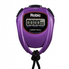 SC-429 Water Resistant 2 Memory Stopwatch-Purple