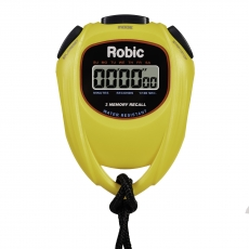 SC-429 Water Resistant 2 Memory Stopwatch-Yellow