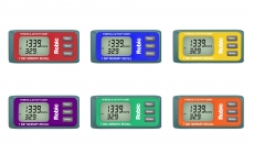 M339 3D Pedometer 6-Pack Assortment