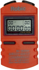 Robic SC-505W 12 Memory Stopwatch-Orange