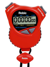 Robic 1000W Dual Stopwatch/Countdown Timer- Red