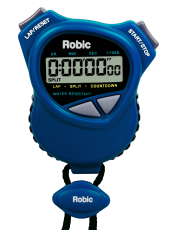 Robic 1000W Dual Stopwatch/Countdown Timer- Royal Blue